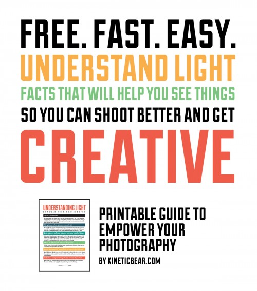 a free guide to understanding lighting for photography